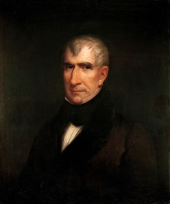 Actual Representation of President William Henry Harrison by James Reid Lambdin, 1835.